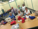 "£270 raised by Inspire on behalf of ""Easy Come Easy Sew"" Group in Dundonald"