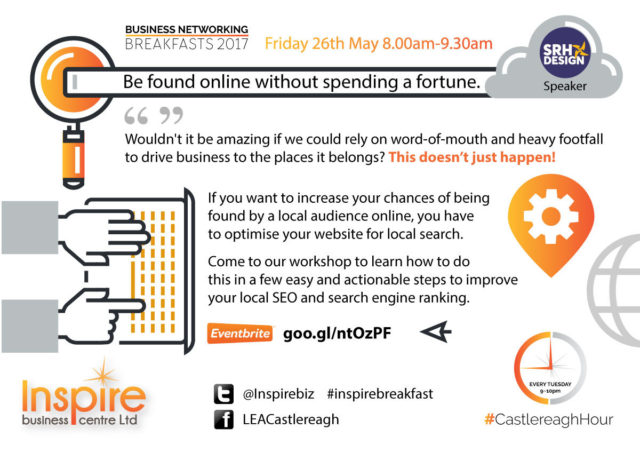 Inspire Business Breakfast - Be found online without spending a fortune!