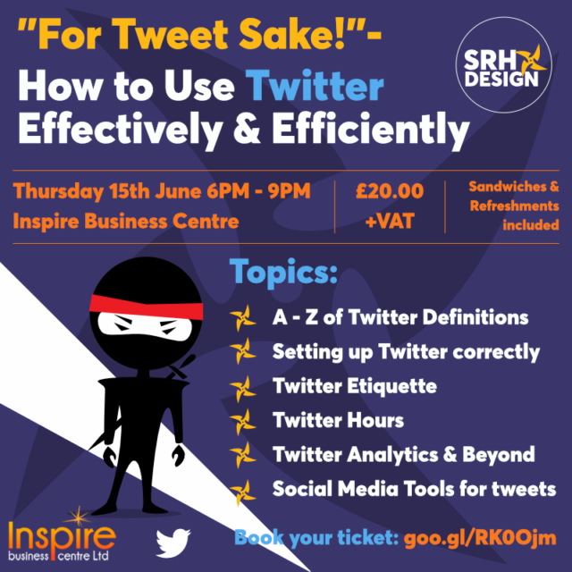 For Tweets sake! Use Twitter Effectively and Efficiently.